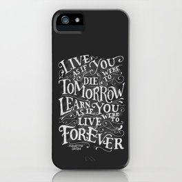 Learn Forever iPhone Case