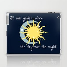 When the Day met the Night Laptop & iPad Skin
