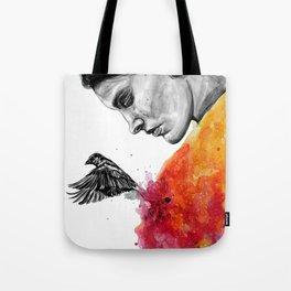 Goodbye depression Tote Bag