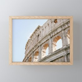 Colosseum in Rome, Italy Framed Mini Art Print