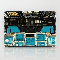 outer space iPad Cases featuring To Outer Space! by Ben Chlapek