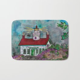 Battery Point Lighthouse Bath Mat