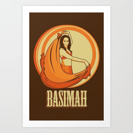 basimah. Art Print
