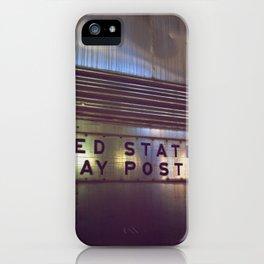 Mail Railway iPhone Case
