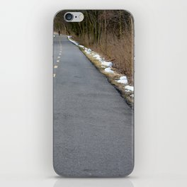 Road Markers iPhone Skin