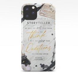 Storyteller iPhone Case