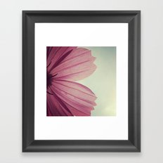 FLOWER 002 Framed Art Print