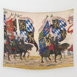 Albrecht Altdorfer (workshop) - The German Princes (1516) Wall Tapestry