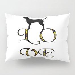 Love Labrador Retriever Pillow Sham
