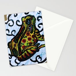Lucky Frog Stationery Cards