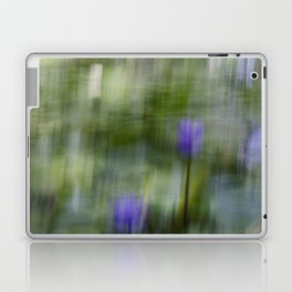 Tropical Impressionism (Purple Water Lily) Laptop & iPad Skin