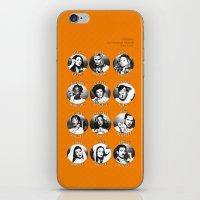 oitnb iPhone & iPod Skins featuring OITNB Characters (Main) by Sandi Panda