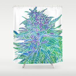 White Hemp harvest our 2019 Medford Oregon lizzie Faye La Jolla number five Shower Curtain