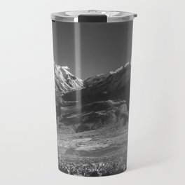 City of Arequipa in Peru with its iconic volcano Chachani Travel Mug