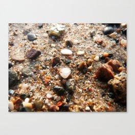 Grains of sand Canvas Print