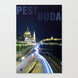 PESTBUDA Canvas Print
