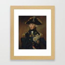 Admiral Horatio Nelson Framed Art Print