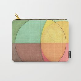 Concentric Circles Forming Equal Areas Carry-All Pouch