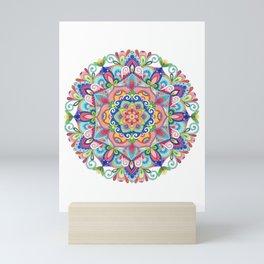 Beneath the Summer Sky Mandala Mini Art Print