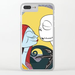 Nightmare Before Xmas Clear iPhone Case