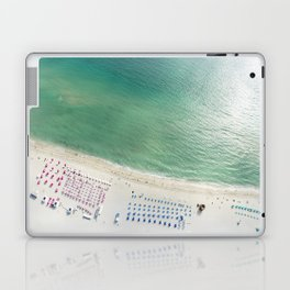 Helicopter View of Miami Beach Laptop & iPad Skin