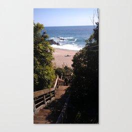 Tablerock, Laguna Beach cali Canvas Print