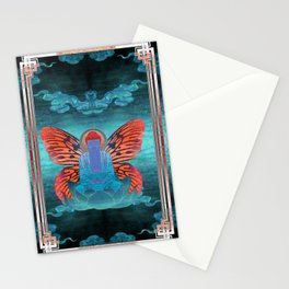 buddherfly #3 Stationery Cards