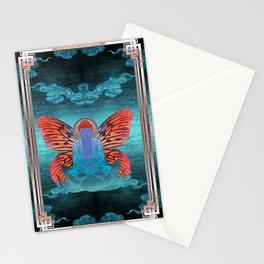 buddherfly #3 Stationery Cards