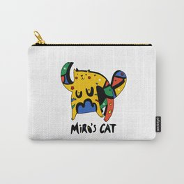 Joan Miro's Cat Carry-All Pouch