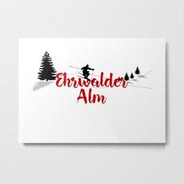 Ski at Ehrwalder Alm Metal Print