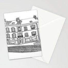 Street Corner in Le Mans, France Stationery Cards
