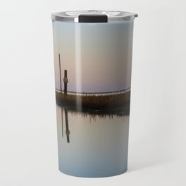 Looking out to Lindisfarne Travel Mug