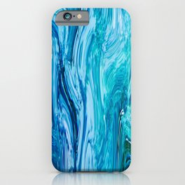 436 - Abstract water design iPhone Case