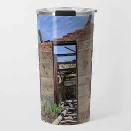 Abandoned Building - Nine Mile Canyon - Price - Utah Travel Mug