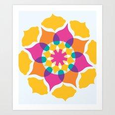 Majestic Swirl Art Print