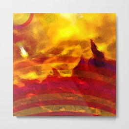 The Red Planet. Metal Print