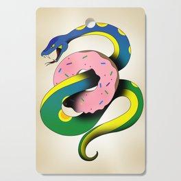 Donut Snake Cutting Board