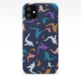 godzilla pattern 02 iPhone Case