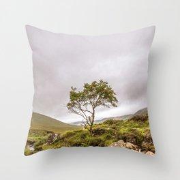 Mountain Ash Throw Pillow