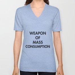 Mass Consumption Unisex V-Neck