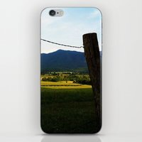 rustic iPhone & iPod Skins featuring Rustic by Blue Lightning Creative