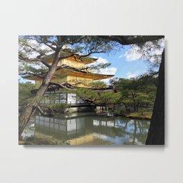 Kinkaku-ji Metal Print