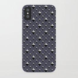 Iguana - navy iPhone Case