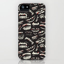 Monster Mouths iPhone Case