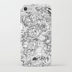 Naruto characters doodle iPhone 7 Slim Case