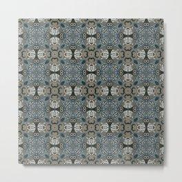 Earth Tiles Metal Print