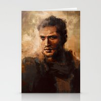 mad max Stationery Cards featuring Max by nlmda