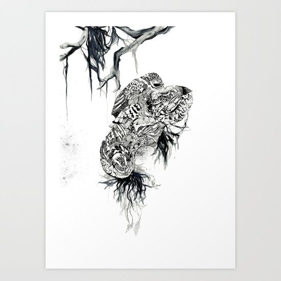 Extinction part2 Art Print