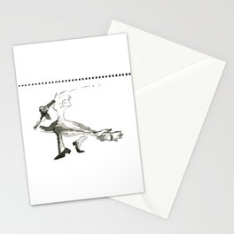remembering Maria Lassnig Stationery Cards