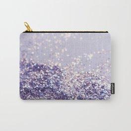Lilac Mermaid Magic Glitter #1 (Faux Glitter) #shiny #decor #art #society6 Carry-All Pouch
